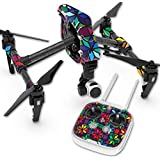 Skin For DJI Inspire 1 Quadcopter Drone – Stained Glass Window | MightySkins Protective, Durable, and Unique Vinyl Decal wrap cover | Easy To Apply, Remove, and Change Styles | Made in the USA