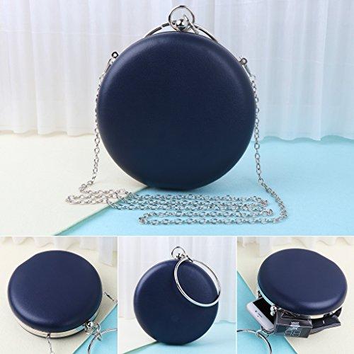 pour femme M Taille fugenzhang Pochette Bleu Marine SqFax4