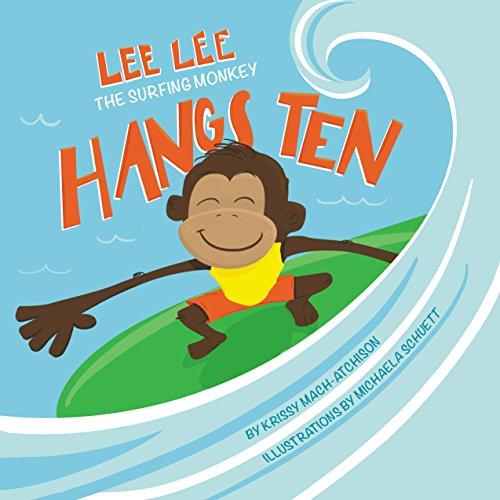 Lee Lee the Surfing Monkey Hangs Ten