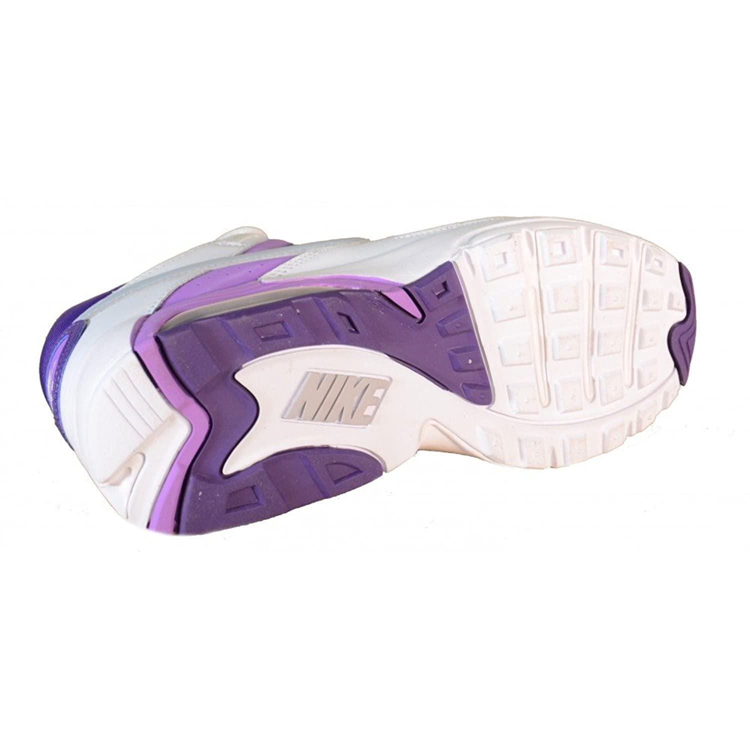 a1a6c64f1f3 ... Nike - Nike Air Max Go Strong Womens Sports Shoes White Purple Leather  Material 432088 ...