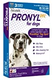 Pronyl OTC 89 to 132-Pound Dog Flea and Tick Sqz-On Flea and Tick Remedy, 3-Count, My Pet Supplies