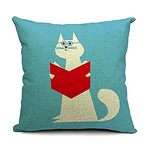 Aremazing Cartoon Pillowcase Cushion Reading product image