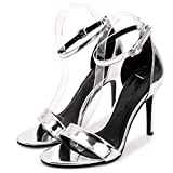 Shoes Women Summer Gladiator Sandals Women Sexy Thin High Heels Sandals Party Wedding Shoes