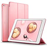iPad Air 2 Case, iPad Air 2 Cover, iPad Air 2 Cases and Covers, ESR Yippee Color Series Smart Cover+Transparent Back Cover [Auto Wake Up/Sleep Function]for[2014 Release] iPad Air 2(Sweet Pink)