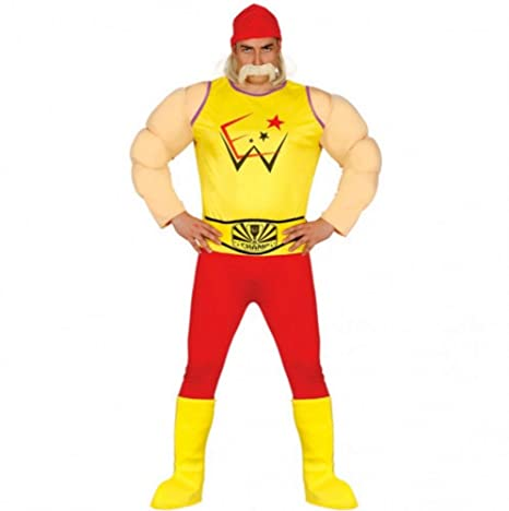 2costume adulto hulk hogan