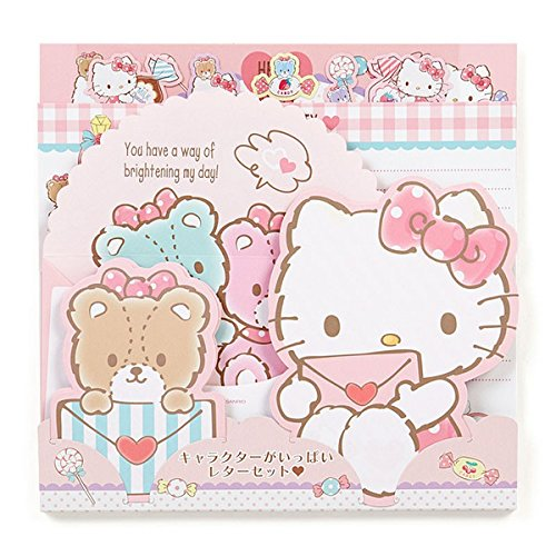 Hello Kitty] Letter Set Japanese Style (Hello Kitty Stationery)