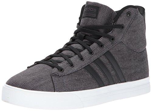Sneaker Adidas Mens Cf Super Daily Mid Nero / Nero / Nero