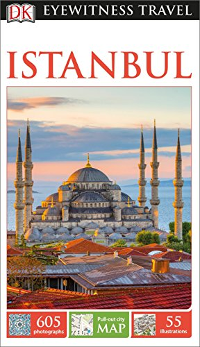 DK Eyewitness Travel Guide Istanbul (Best Istanbul Travel Guide)
