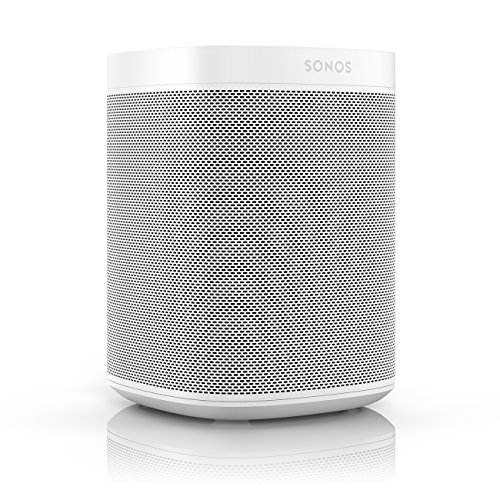 Sonos One (Gen 1) - Voice Controlled Smart Speaker with Amazon Alexa Built-in (White) (Best Settings For Sony Sound Bar)