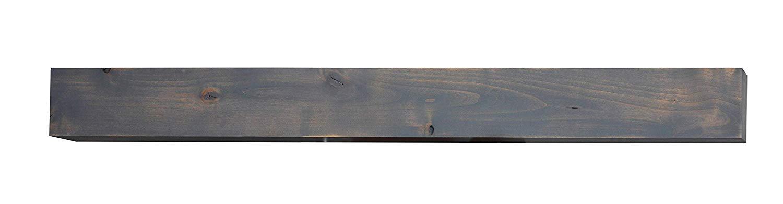 Bjorn Woodworks Driftwood Grey Mantel Shelf (72 in.) by Bjorn Woodworks