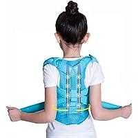 YXMxxm Corrector de Postura para niños, Mejora la cifosis torácica y la Postura Vertical, cómodo Apoyo de Espalda para niños y niñas