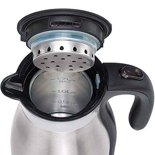 Rosewill Steel Insulated, Keep Thermal Pot, L, ,