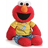 Gund Sesame Street Elmo Pajama Pal Stuffed Toy Plush