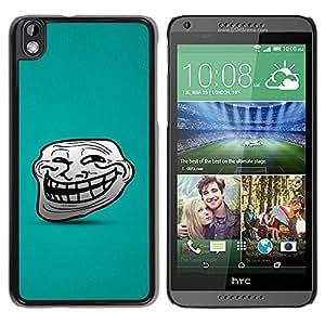 All Phone Most Case / Hard PC Metal piece Shell Slim Cover Protective Case Carcasa Funda Caso de protección para HTC DESIRE 816 Big Smile Cartoon Face Comic Character Teeth