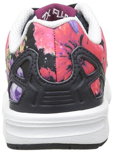 adidas Zx Flux - Zapatos Primeros Pasos, Bebé-Niños Azul/Blanco/Negro (Eqt Blue S16/Ftwr White/Core Black)