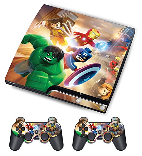 ps3 super slim skin iron man - 1