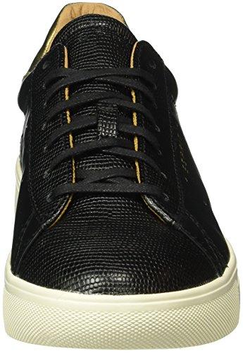 Esprit Lizette Lace Up, Zapatillas para Mujer Negro (001 Black)