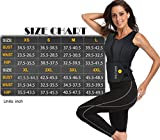 HOPLYNN Sweat Vest for Women, Adjustable Neoprene Sauna Waist Trainer Vest for Weight Loss (see the size chart)