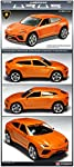 Academy 1/43 Scale Lamborghini Urus / 15527 / Plastic Model Assembly Kit/Do not Require Painting/Hobby Model Car Building Kits by Academy Model