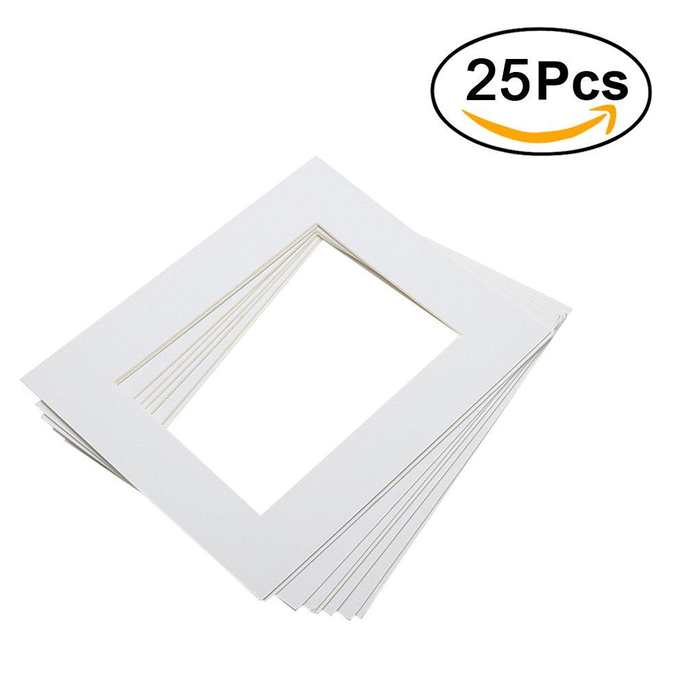 ROSENICE Papier Bilderrahmen Fotorahmen 10 Zoll weiße Papier Bild ...