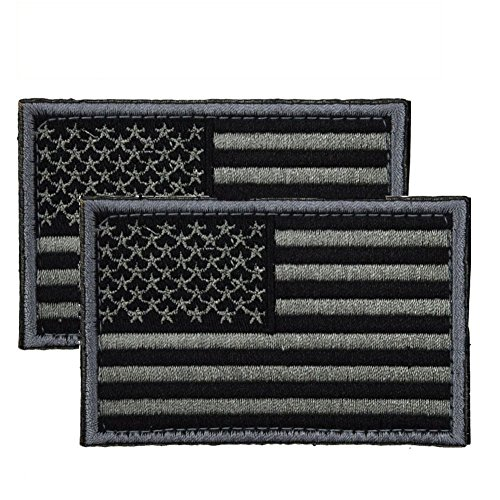 CREATOR Tactical USA Flag Patch 2 Pieces American Flag Military Patch