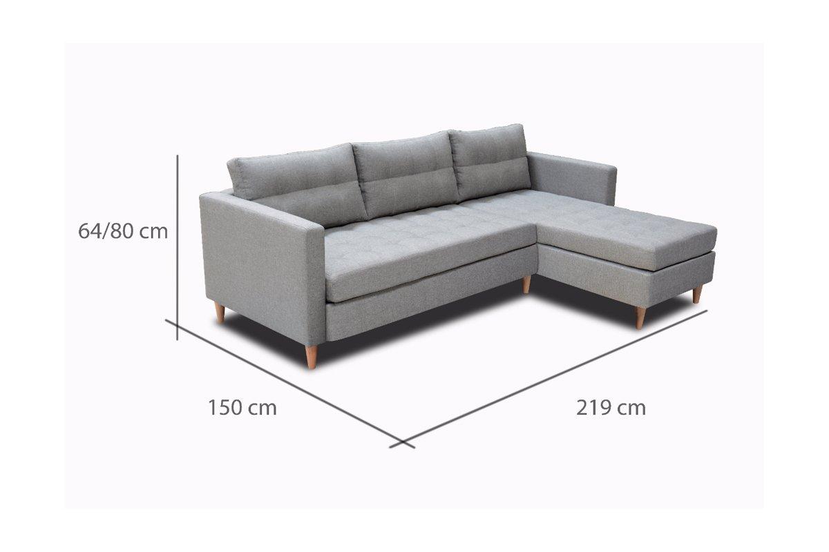 Schön Sofa 150 Cm Sammlung Von Selsey Copenhagen - Corner Lounge / Bed