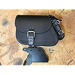 ORLETANOS-Dyna-Clean-Black-Bracket-for-Swing-Arm-Compatible-with-Black-Swing-Bag-Harley-Davidson-Dynabob-Streetbob-Lowrider-Bag-Holder-Biker-Bags-Saddle-Bags-Side-Pocket-Fat-Bob