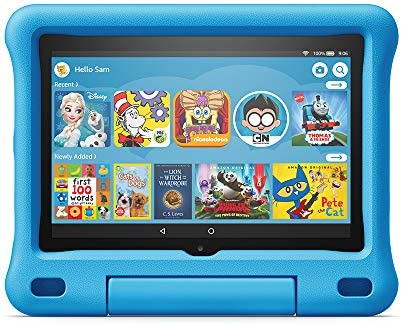 Amazon Kid-Proof Case for Fire HD 8 pill (Only appropriate with tenth era pill, 2020 free up) Blue