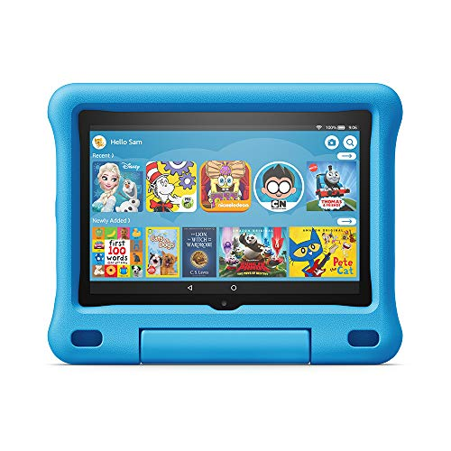 Kid-Proof Case for Fire HD 8 tablet, compatible with 10th generation tablet, 2020 release