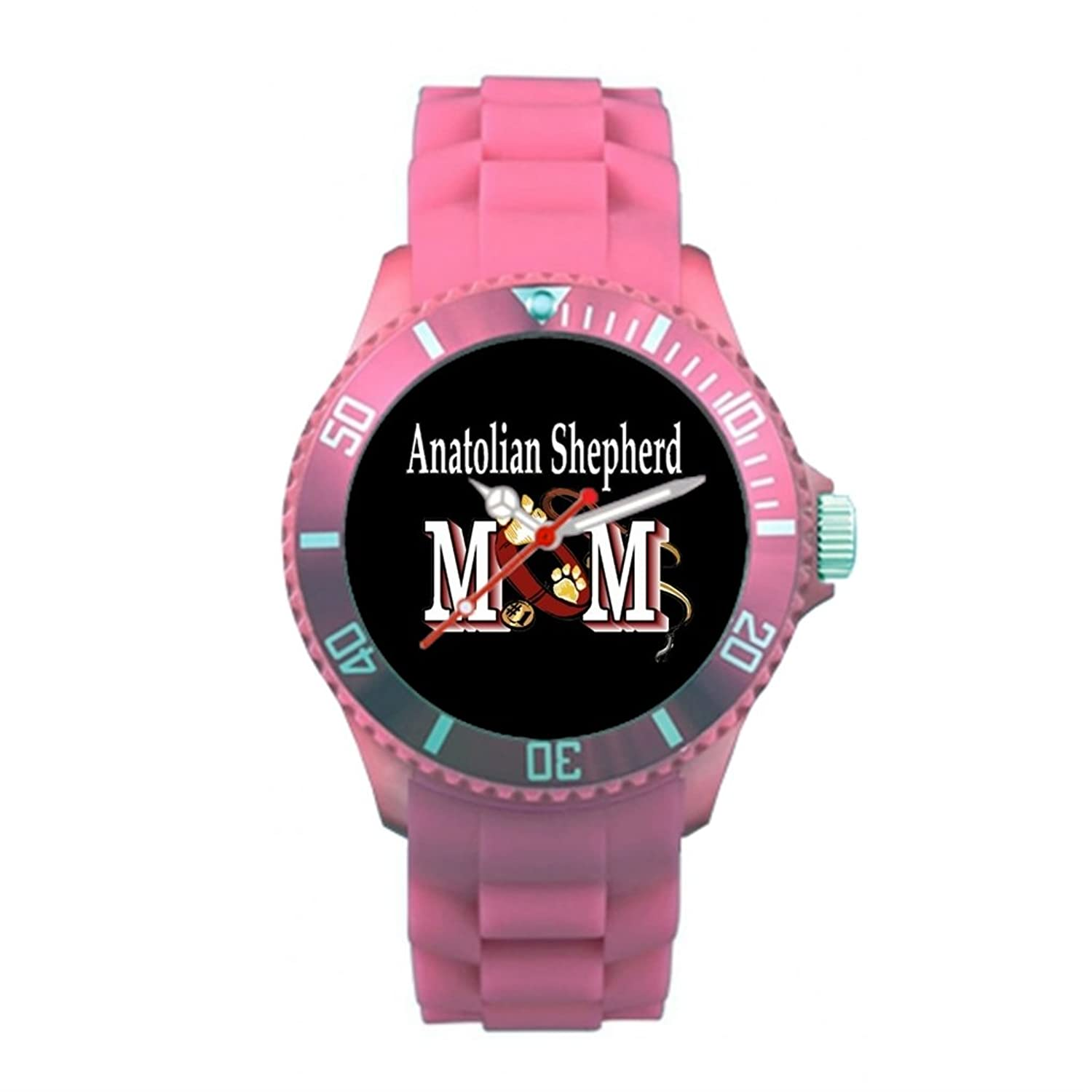 Amazon.com: Mothers Day Plastic Watches For Mom Plastic Banded Watches Pink: Watches