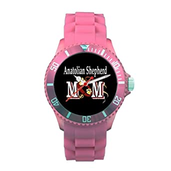 Mothers Day Plastic Watches For Mom Plastic Banded Watches Pink