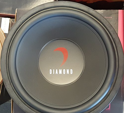 Diamond Audio TM312D2 12-Inch 300W RMS Dual 2 Ohm Subwoofer 600W Max OLD SCHOOL