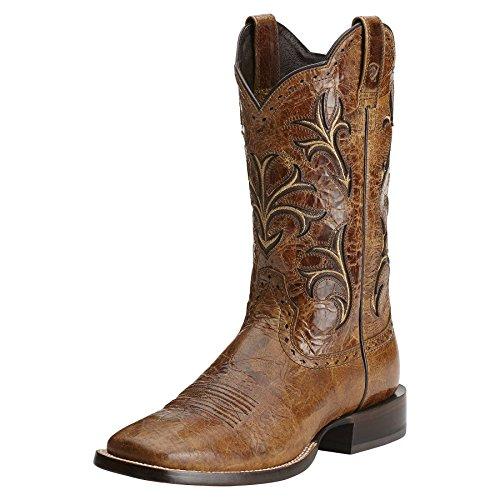 Ariat Men's Cowboss Equestrian Boot,Tan,15 D US