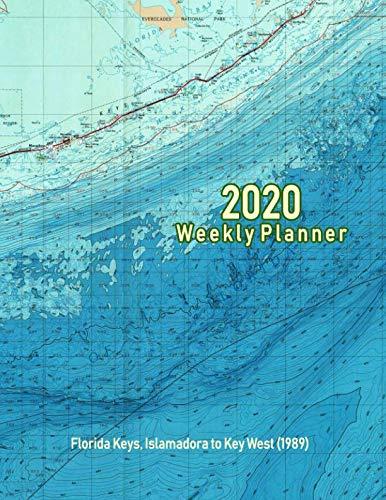 2020 Weekly Planner: Florida Keys, Islamadora to