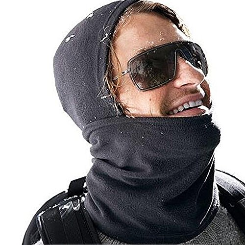Wind-proof Hinged Balaclava Fleece Neck Snood Scarf Thermal Ski Wear Snowboarding