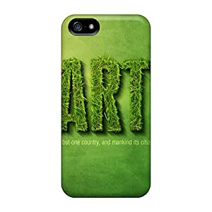 New Snap-on JGOke Skin Case Cover Compatible With Iphone 5/5s- Green Earth