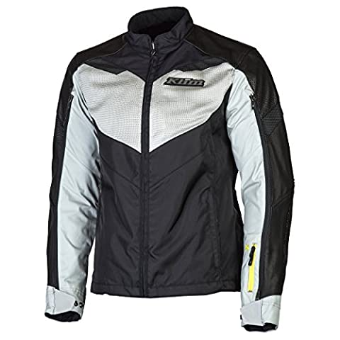 Klim Apex Air Men's Off-Road Motorcycle Jacket - Gray / Large - Mens Off Road Motorcycle