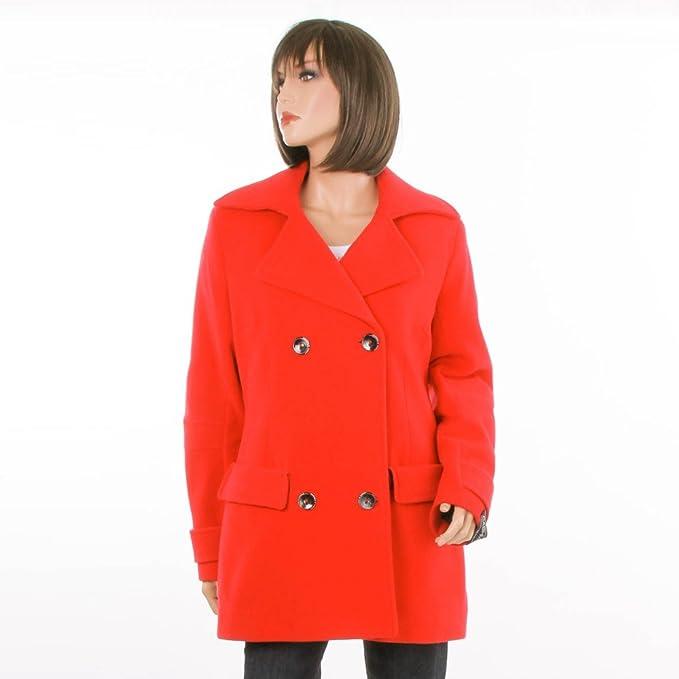 FRIEDA & Fred Esto Mujer Abrigo 1715 – 330 rojo rojo extra-large