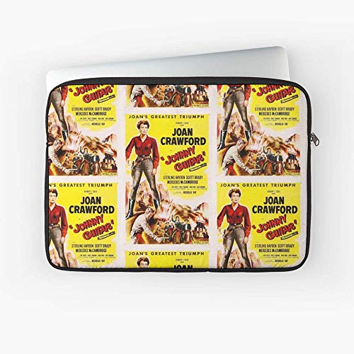 Classic Movie Poster Johnny Guitar Laptop Sleeve - Made from Neoprene.