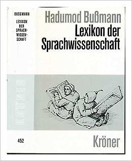 Sprachwissenschaft lexikon online dating
