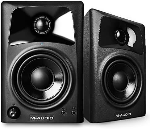 M-Audio AV32 | 10-Watt Compact Studio Monitor Speakers with 3-inch Woofer (Pair)
