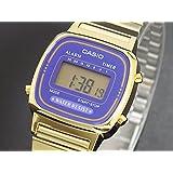 カシオ CASIO クオーツ デジタル レディース 腕時計 LA670WGA-6 パープル/ゴールド [並行輸入品]