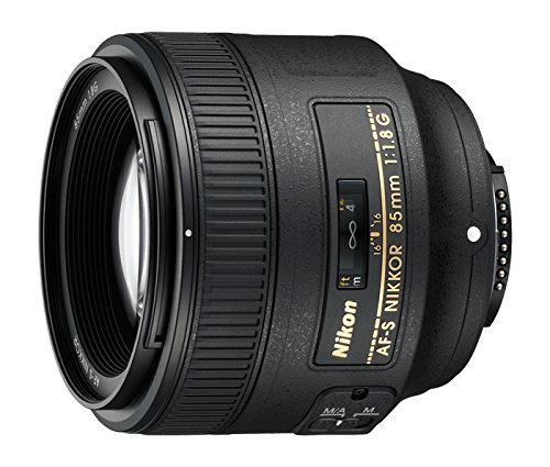 Nikon AF FX NIKKOR 85mm f/1.8G Fixed Lens