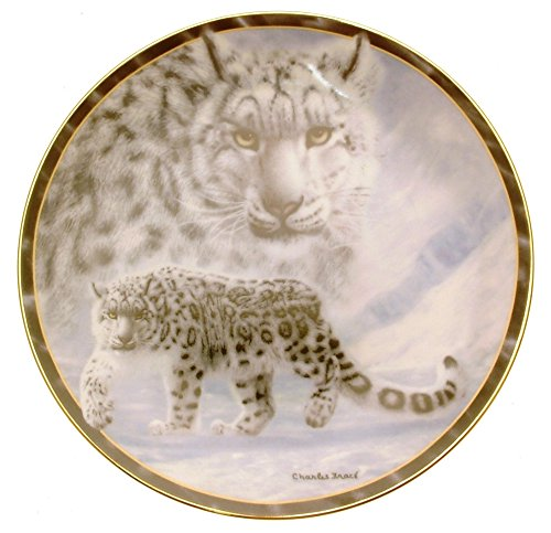 Photo Bradford Exchange Gray Ghost Soul of the Wild Charles Frace plate HJ 153