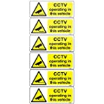6 CCTV camera in vehicle adhesive vin...
