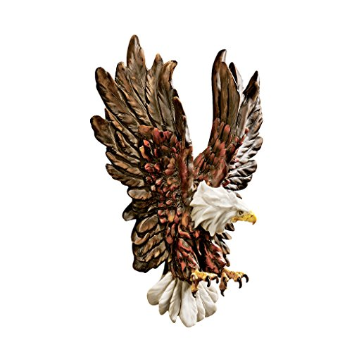 Design Toscano Liberty's Flight Eagle Wall Sculpture