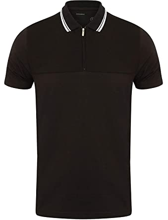 Dissident - Polo - Camisa - Básico - Clásico - para Hombre Negro ...