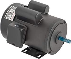 Grizzly Industrial G2535 - Heavy-Duty Motor 1-1/2 HP Single-Phase 3450 RPM TEFC 110V/220V