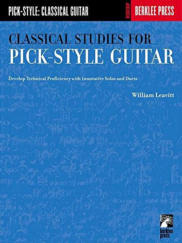 classical studies for pick-style guitar pdf