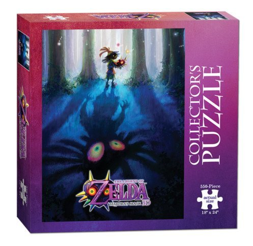Collector Mask (USAopoly The Legend of Zelda Majora's Mask Collector's Puzzle (550 Piece))